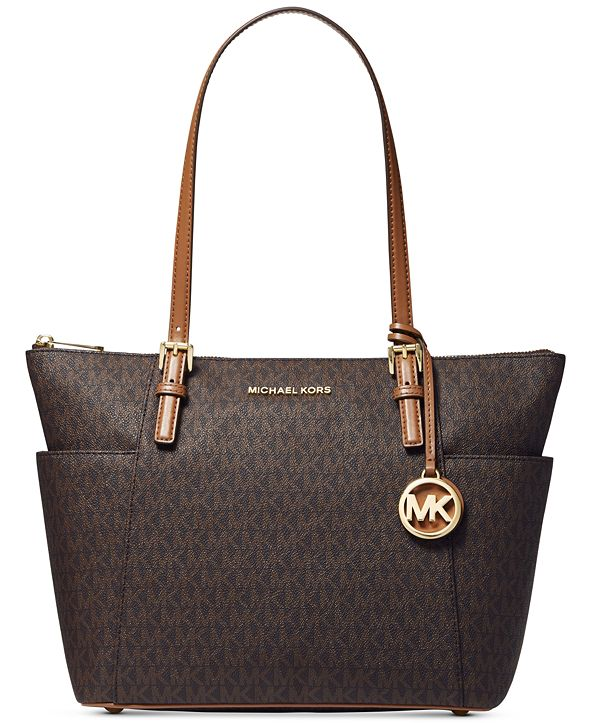 Michael Kors Signature Jet Set East West Top Zip Tote