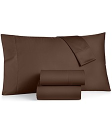 Full 4-Pc Sheet Set, 550 Thread Count 100% Supima Cotton, Created for Macy's