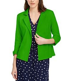 3/4 Sleeve Knit Blazer, Created for Macy's