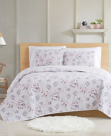 Rose Dusk 3-Piece Full/Queen Quilt Set