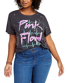 Trendy Plus Size Pink Floyd T-Shirt, Created for Macy's
