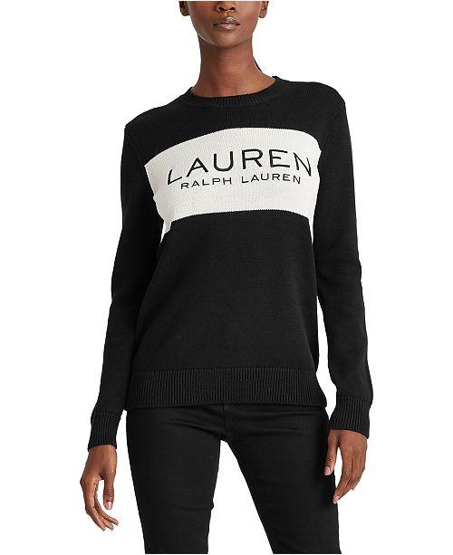 Lauren Ralph Lauren Cozy Cotton Sweater