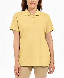 Cotton Polo Top, Created For Macy's