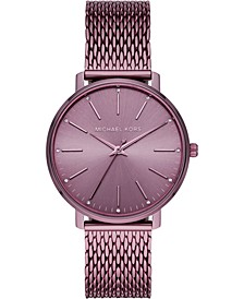 Women's Pyper Lavender Stainless Steel Mesh Bracelet Watch 38mm