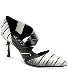 Women's Gella Asymmetrical Dress Pumps