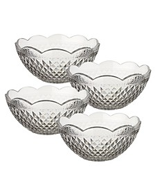 CLOSEOUT! Boston Flare Individual Bowl Set of 4