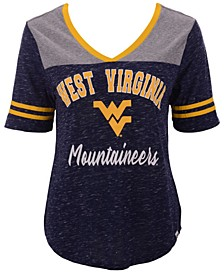 Women's West Virginia Mountaineers Mr Big V-Neck T-Shirt