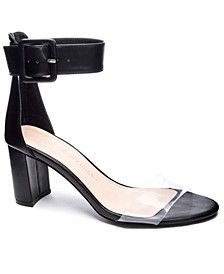 Reggie Block Heel Dress Sandals