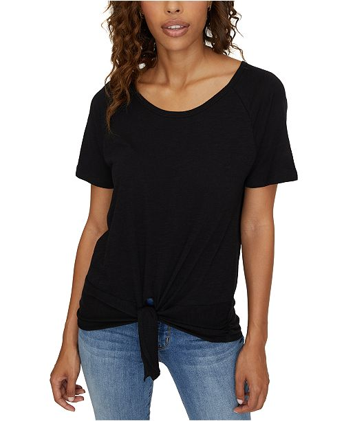Sanctuary Lou Tie-Hem T-Shirt