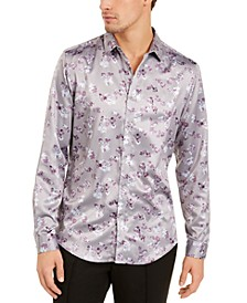 INC Men's Han Floral Shirt, Created for Macy's
