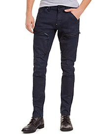 Men's Skinny-Fit Stretch Air Defence Zip Jeans