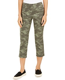 Camo-Print Capri Pants, Created for Macy's