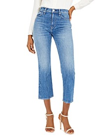 Remi High-Rise Straight-Leg Jeans