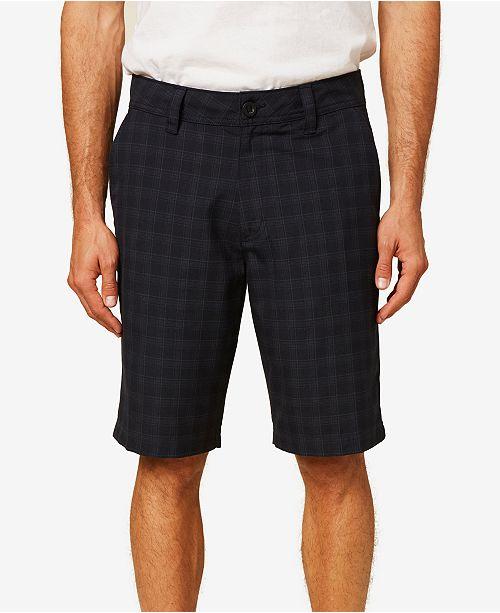 O'Neill Men's Horizon Plaid Short
