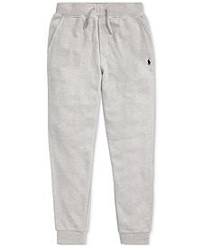 Big Boys Cotton Mesh Jogger Pants