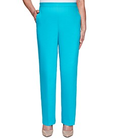 Petite Easy Street Sateen Pull-On Pants