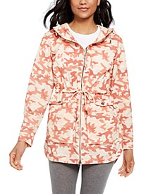 Plus Size West Bluff Printed Jacket
