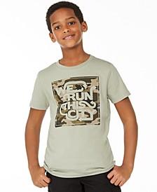 Big Boys We Run T-Shirt, Created for Macy's