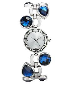 Women's Glass Stone Bracelet Watch 26mm, Created for Macy's