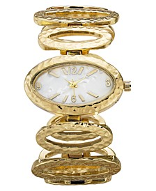 Women's Oval-Link Bracelet Watch 38mm, Created for Macy's