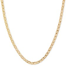 "Mariner Link 20"" Chain Necklace in 18k Gold-Plated Sterling Silver"