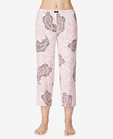 Knit Cropped Pajama Pant