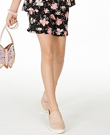 Big Girls Floral-Print Challis Shorts, Created For Macy's