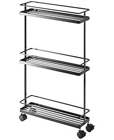 Home Tower Rolling Kitchen Storage Cart