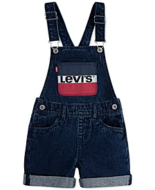Big Girls Cotton Denim Shortalls