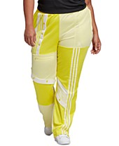 adidas pants yellow