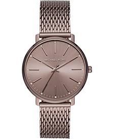 Women's Pyper Sable Stainless Steel Mesh Bracelet Watch 38mm