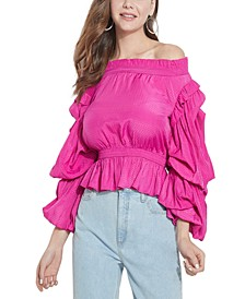 Celestina Off-The-Shoulder Top