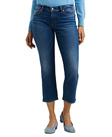 Low Rise Cropped Jeans