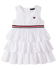 Toddler Girls Cotton Ruffled Dress