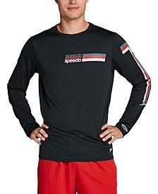 Men's Performance Graphic Long Sleeve Swim Shirt