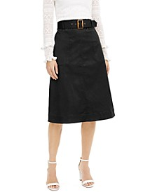INC Utility Midi Skirt, Created for Macy's