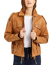 Relaxed Indie Leather Jacket