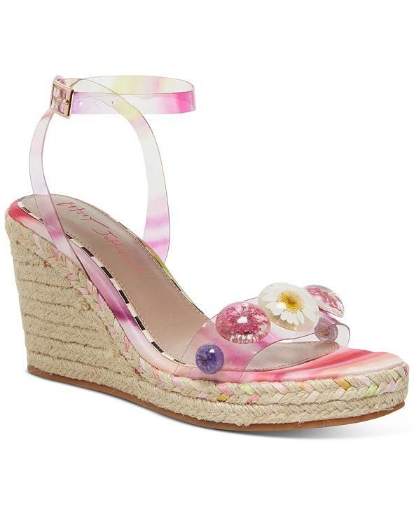Betsey Johnson Elli Wedge Sandals