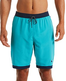 "Men's Stripe Breaker 9"" Volley Shorts"