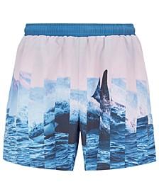 BOSS Men's Paradise Fish Quick-Dry Swim Shorts
