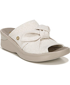 Bzees Smile Washable Slip-On Sandals