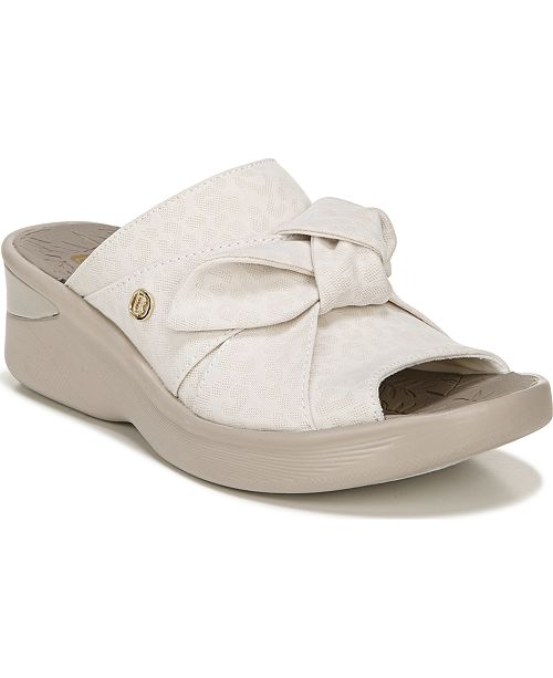 Bzees Smile Slip-On Sandals