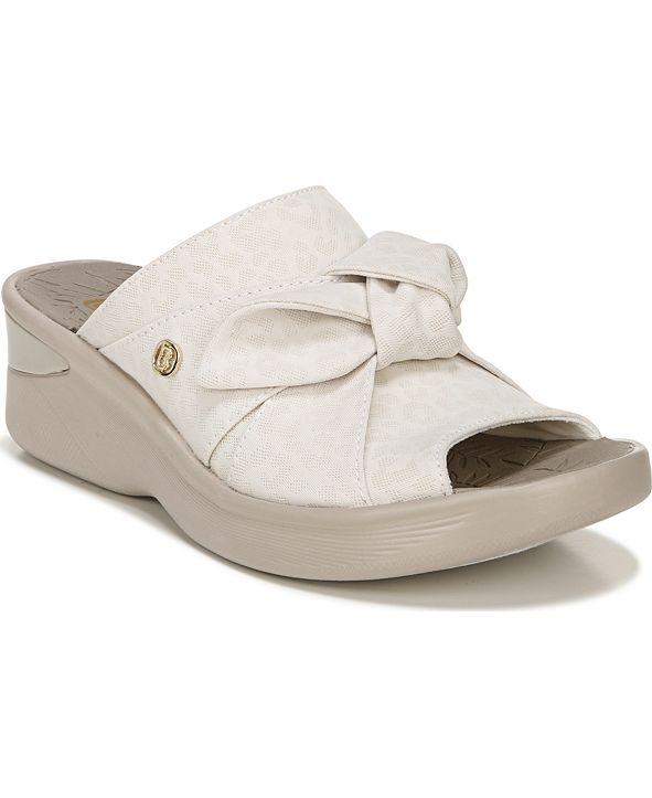Bzees Smile Washable Slip-On Sandals