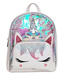 Toddler, Little and Big Kids Princess Miss Gwen Unicorn Clear Mini Backpack