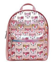 Toddler, Little and Big Kids Roxy Foxy Print Mini Backpack