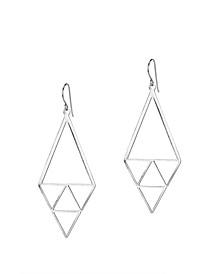 Inner Triangle Earrings