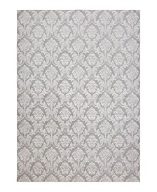 CLOSEOUT! Sache HS-21 Gray 4' x 6' Area Rug