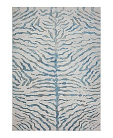 Bandipur HB-20 Blue 4' x 6' Area Rug