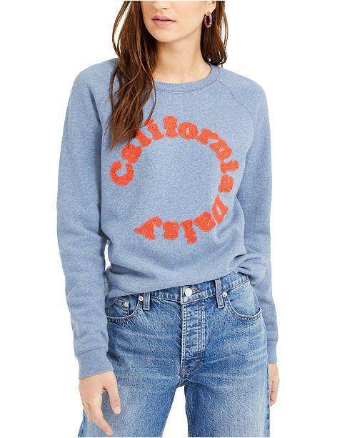 Lucky Brand California Daisy Sweatshirt