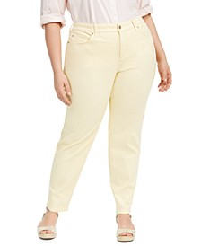 Plus Size Bristol Tummy-Control Ankle Jeans, Created for Macy's